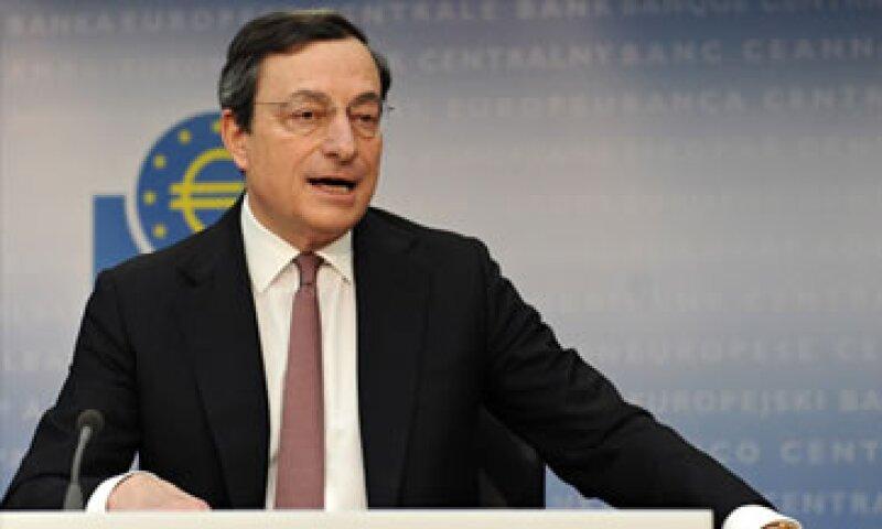 Draghi indicó que la tasa de inflación probablemente se mantenga por sobre 2% este año. (Foto: Cortesía CNNMoney.com)