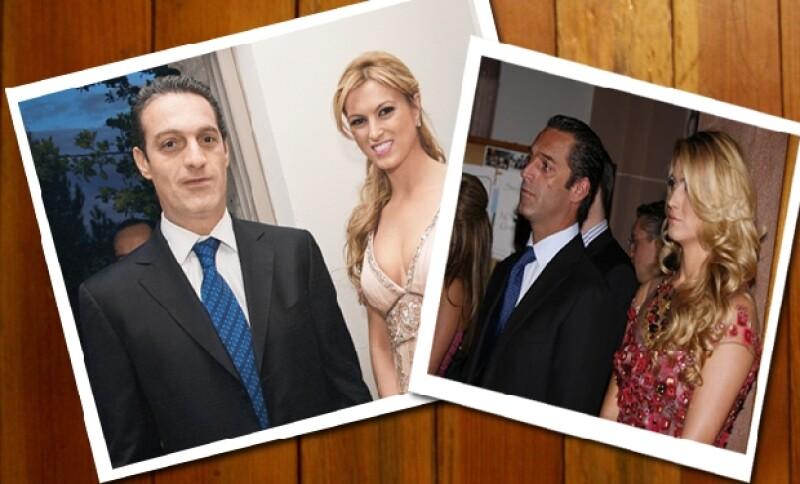 Carlos y María Elena tuvieron una relación que duró 10 años, aunque terminaron y regresaron un par de veces antes de comprometerse.