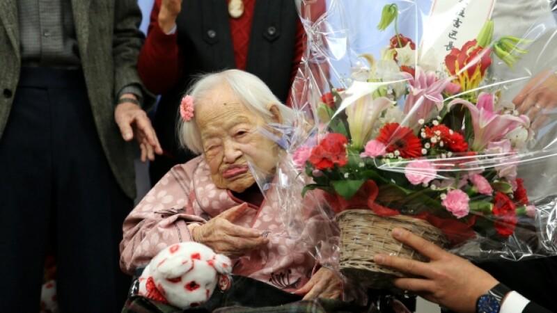 misao okawa persona más vieja del mundo muere