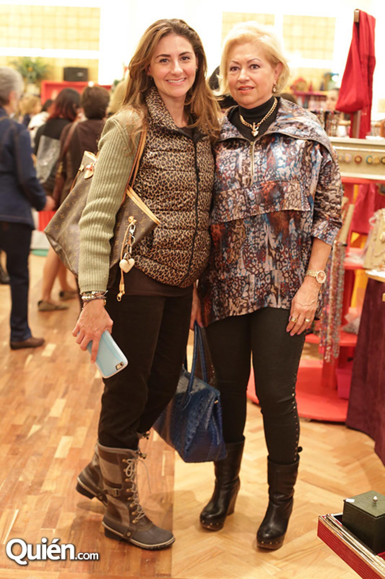 Ana Paulina Sota y Gabriela de Sota