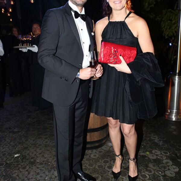 Alan Laredo y Teresa Cristo