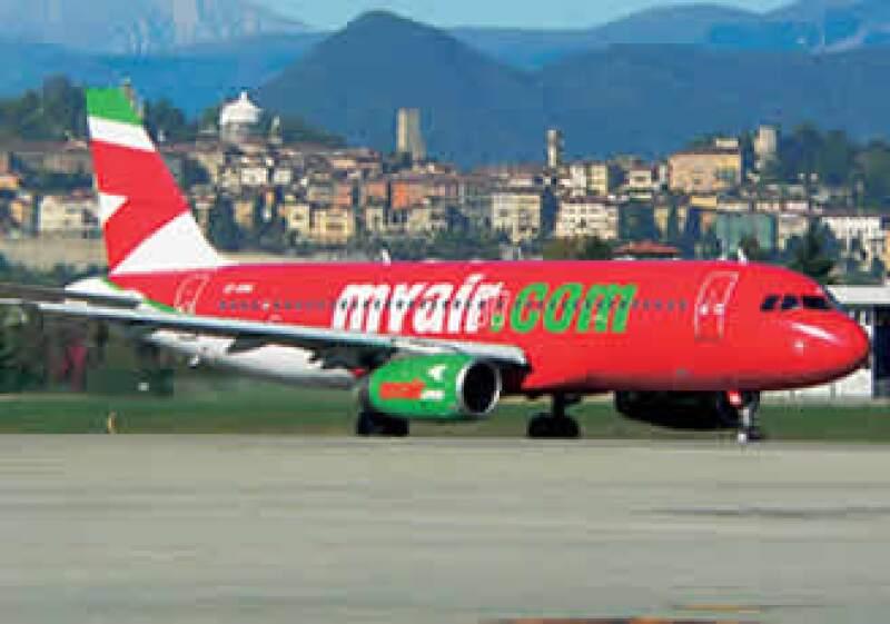 Las autoridades italianas suspendieron la licencia a la aerolínea italiana Myair.com por las dificultades financieras que atraviesa la empresa. (Foto: Cortesía: MyAir.com)