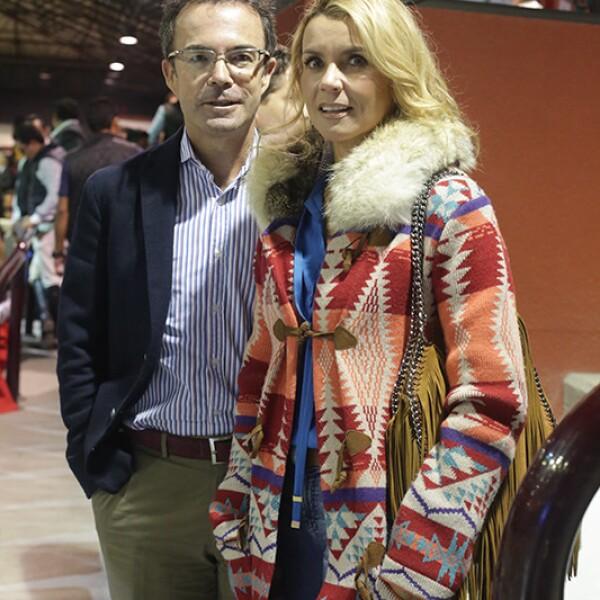 Antonio Chedraui y Paola Prom de Chedraui