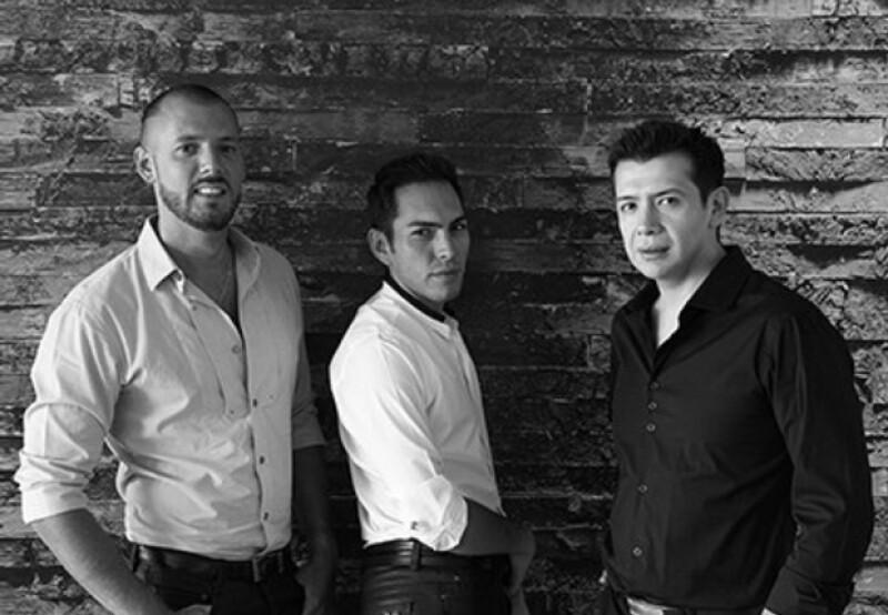 Trabajo en equipo, Marc Launay, Sergio Aguilar y Oscar Huerta.