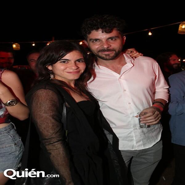 Sofía Espinosa y Max Zunino