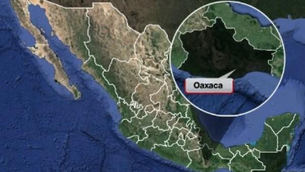 EU amitió hace poco una alerta a sus ciudadanos para evitar viajar en carreteras de Oaxaca (Foto: Google Maps)