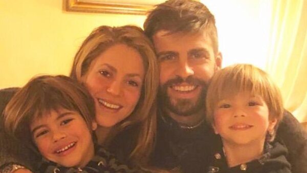 Shakira y su familia