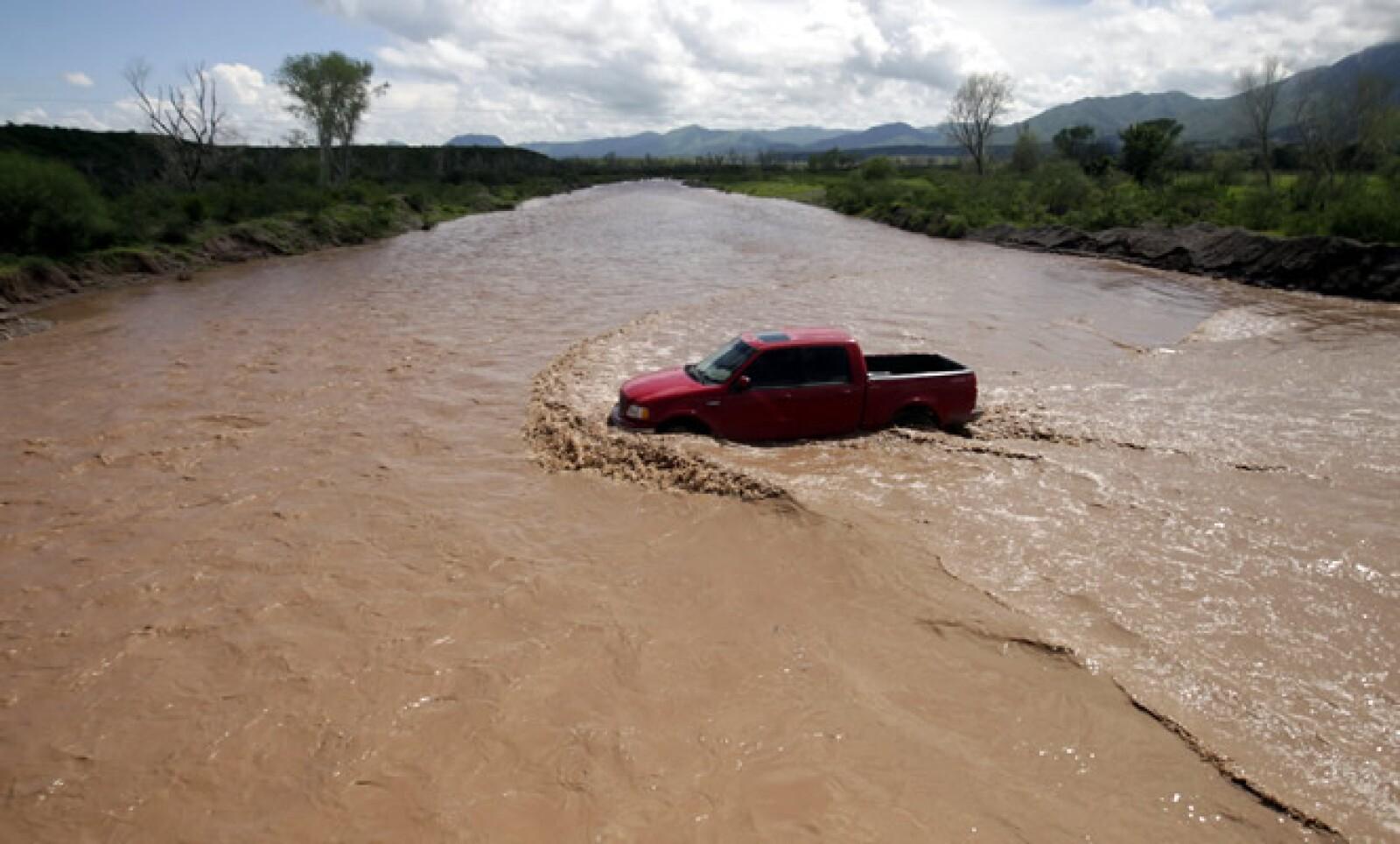 La minera Buenavista del Cobre, propiedad de GMéxico, derramó 40,000 metros cúbicos de sulfato de cobre acidulado en el río Bacanuchi.