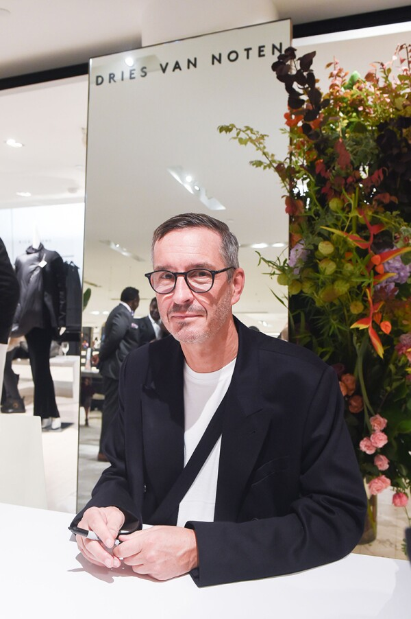 Dries Van Noten 1-100 Celebration, Barneys, New York, USA - 09 Oct 2017