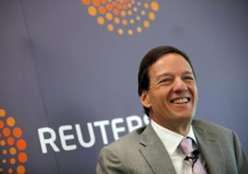 Carlos García Moreno, director de Finanzas de AMóvil, recordó que la firma piensa invertir 8,000 mdd al año. (Foto: Reuters)