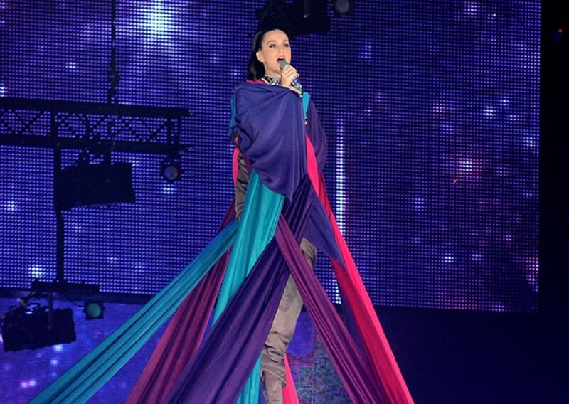 Katy Perry interpretó un sencillo de su nuevo disco, `Prism´.