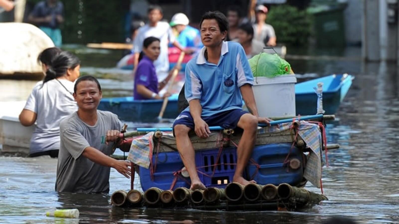 bangkok tailandia inundaciones 09