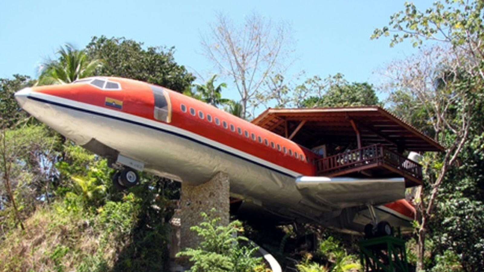 aviones, avion, reciclar, segundo aire, muebles, hotel, aeronave, retiro, chatarra
