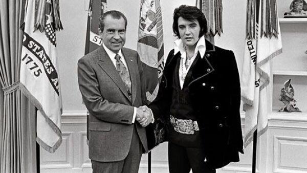 Nixon y Elvis