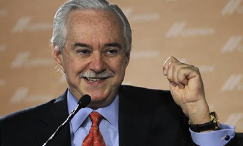 Lorenzo Zambrano controlaba personalmente menos del 5% de las acciones de Cemex.(Foto: Reuters)