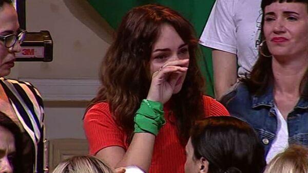 Actrices argentinas respaldan la denuncia de violación de Thelma Fardín