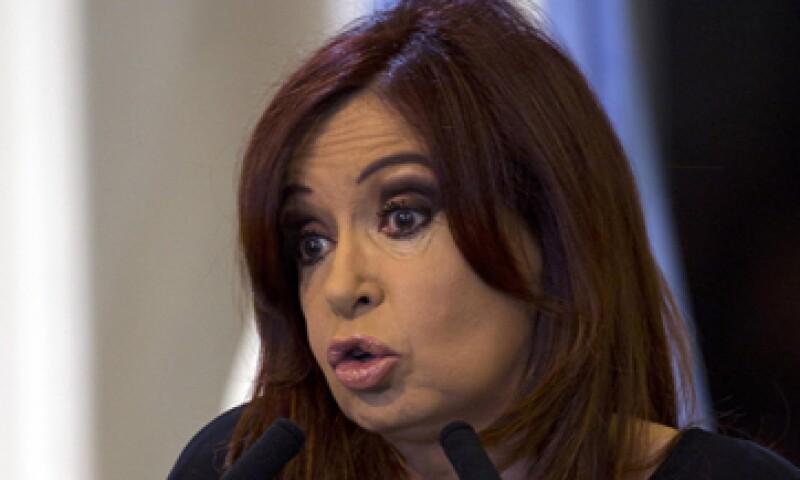 Cristina Fernández reclamó que a su país se le ponen trabas para la importación de carne a Estados Unidos. (Foto: AP)
