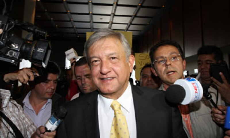 Andrés Manuel deberá ir otra vez por el electorado independiente, calculado entre 35% y 35%, según analistas. (Foto: Notimex)