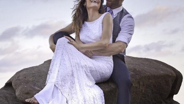 La pareja de actores se unió en matrimonio este fin de semana, la celebración fue en Puerto Escondido.
