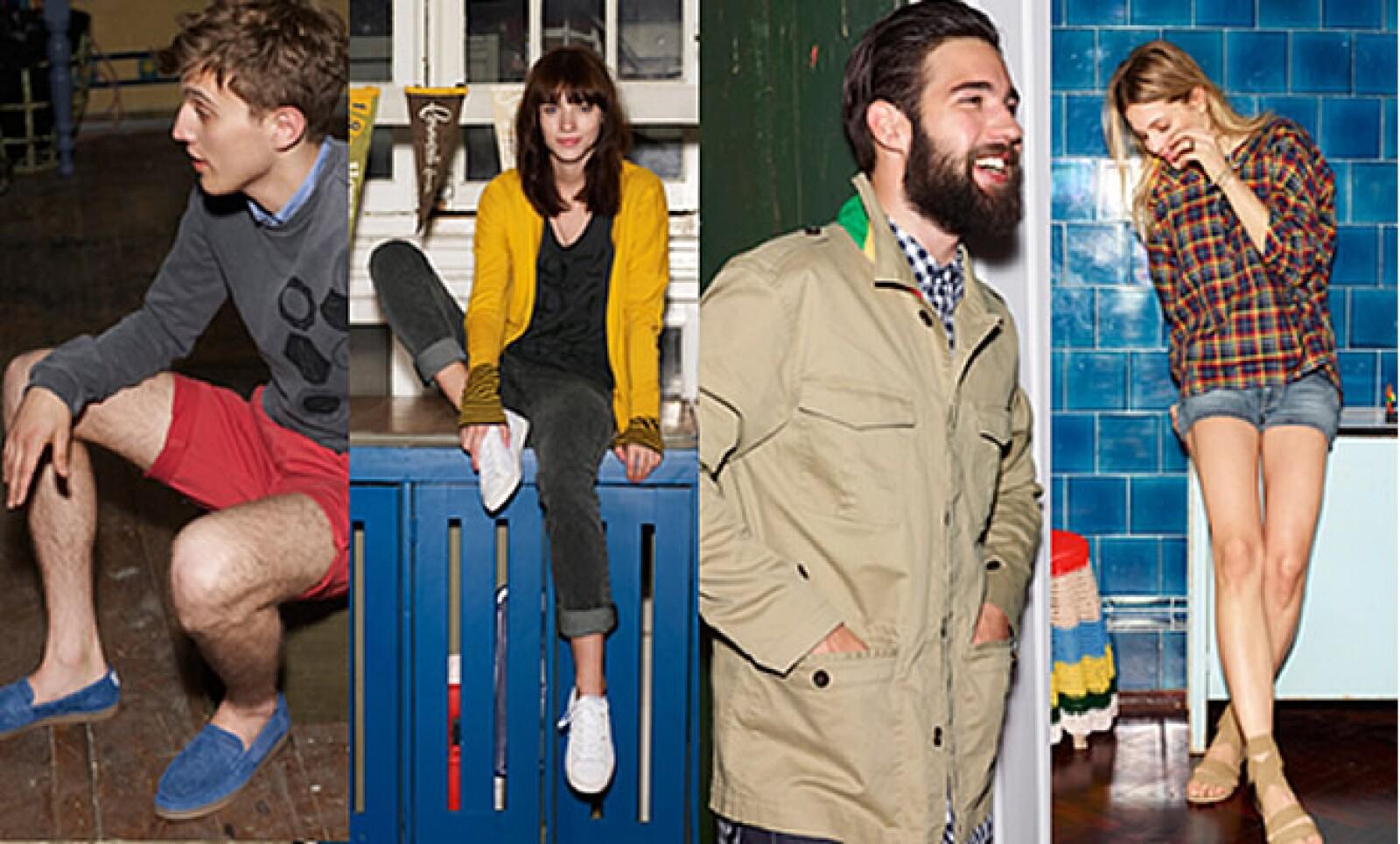 La firma deportiva presentó su Blue Collection, una ecléctica mezcla de los productos más llamativos que posee, listos para esta temporada.
