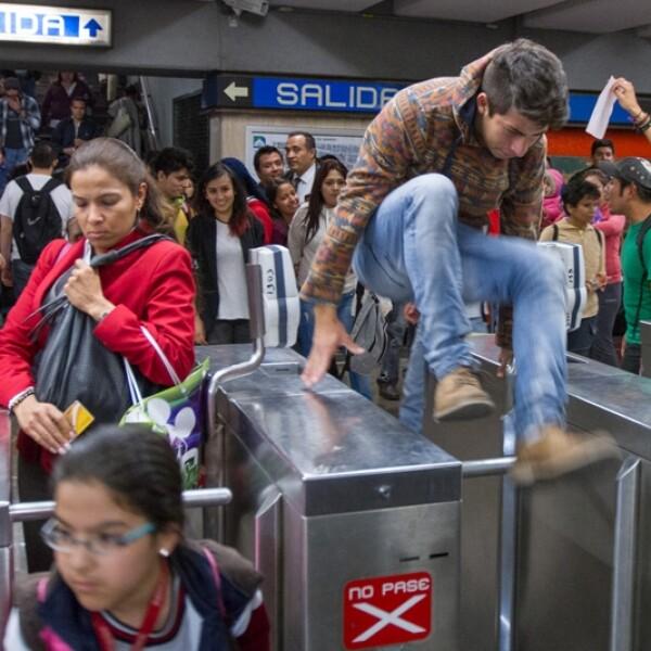 Metro protestas tarifa 3