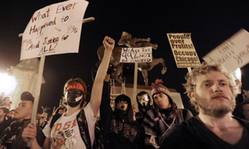 La propuesta del grupo activista llega en un momento en que algunos cuestionan si el movimiento puede mantener su fuerza y se preguntan qué pasará en el futuro. (Foto: AP)