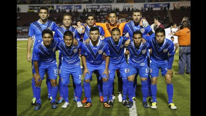 El equipo de futbol Celaya