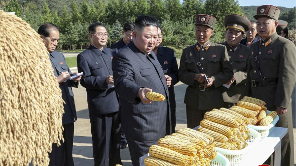 North Korean leader Kim Jong Un visits Farm No. 1116 of KPA Unit 810