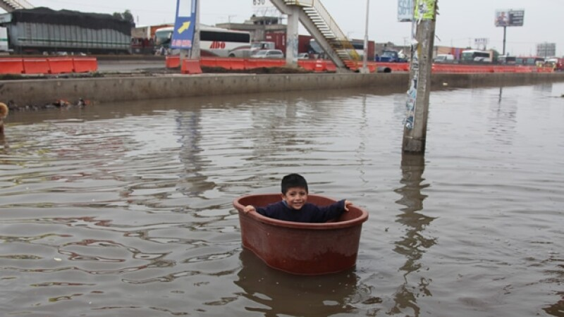 lluvias DF inundación