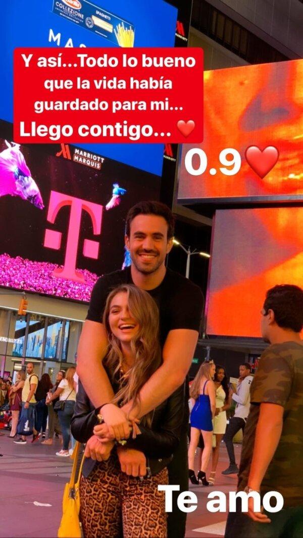 Sofía Castro y Pablo Bernot
