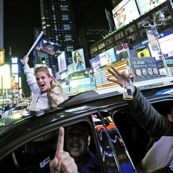 nueva york gigantes festejos patriotas superbowl