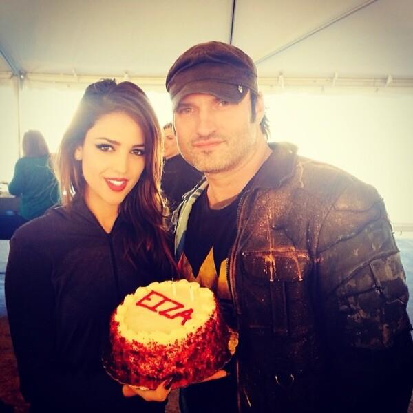Robert Rodriguez celebró el pasado cumpleaños de su estrella.