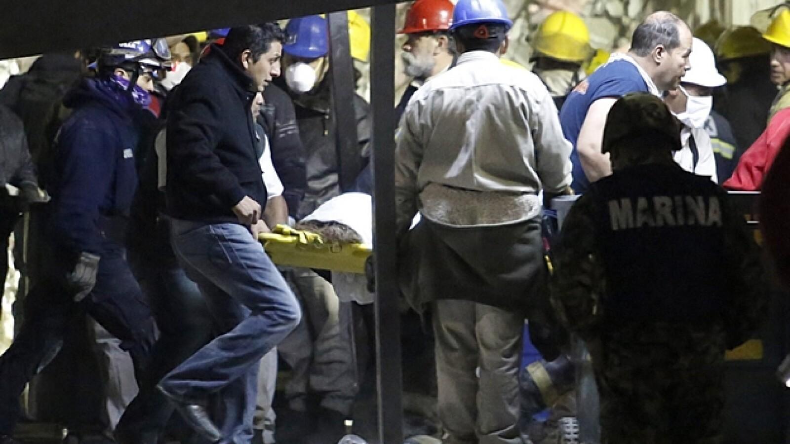 explosion Pemex equipo rescate