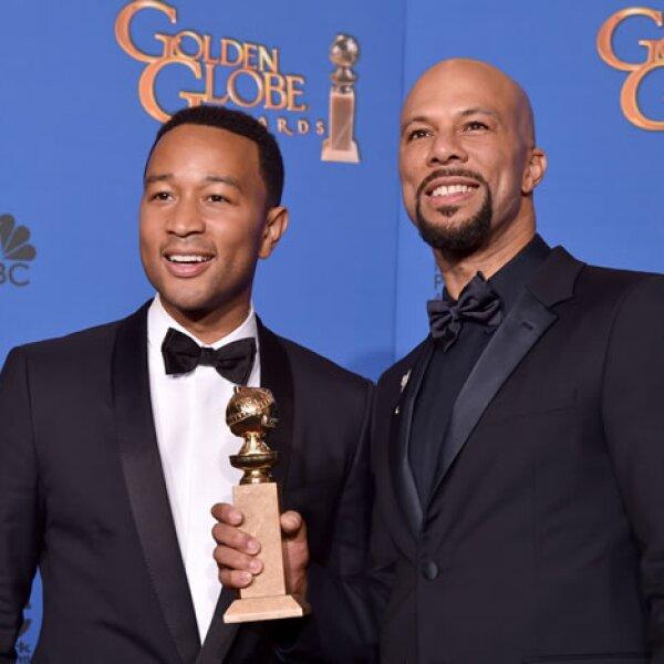 El tema Glory, de la película Selma, ganó Mejor canción, interpretada por John Legend.