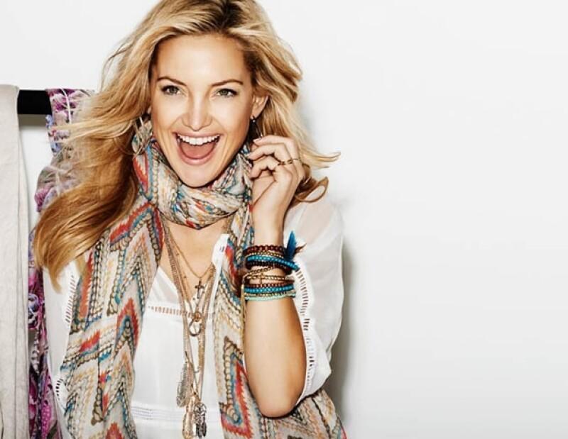 Lindex apostó por la actriz Kate Hudson como su imagen de campaña y embajadora de la línea `low-cost´.