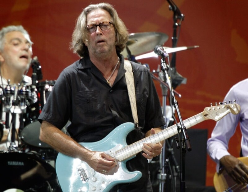 Bert Weedon, quien ayudó a Eric Clapton a tocar la guitarra, murió a los 91 años de edad.