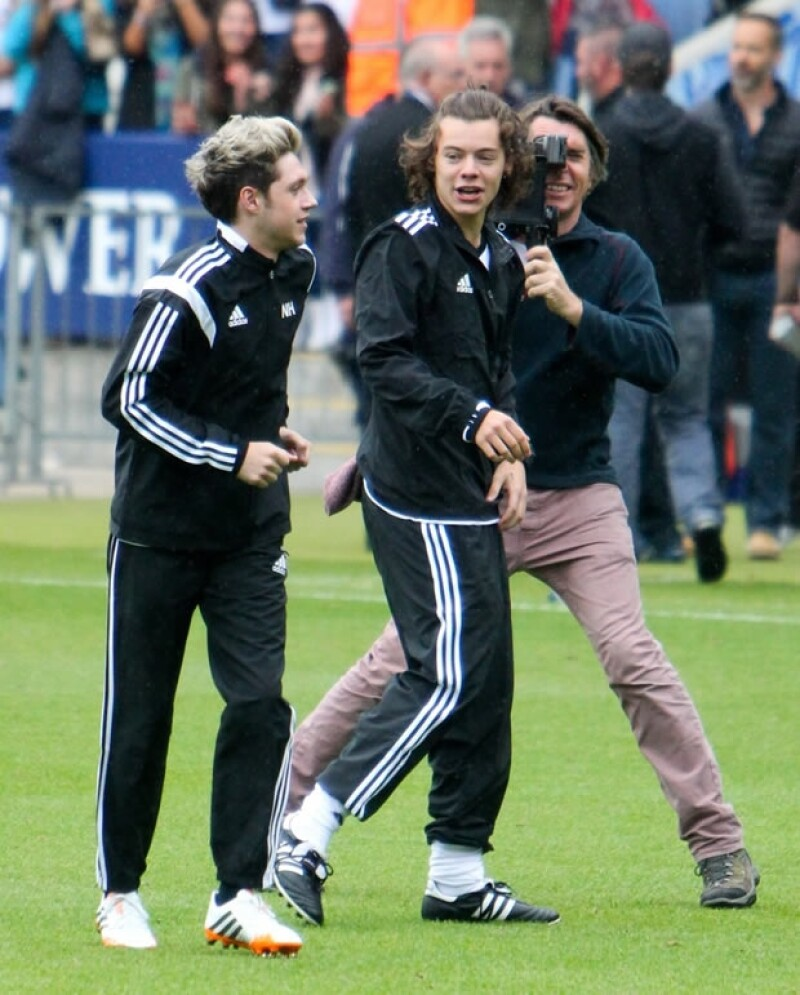 Niall Horan y Harry Styles.