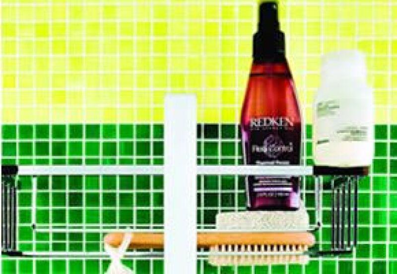 Productos para proteger y moldear el pelo.
