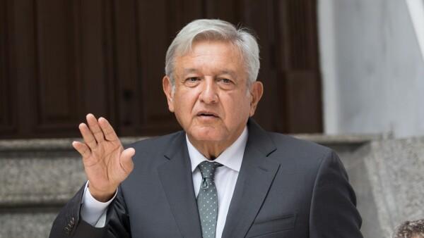 López Obrador -Tren