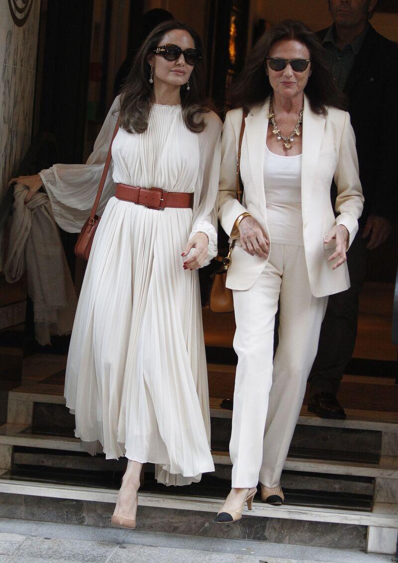 Angelina Jolie y Jacqueline Bisset
