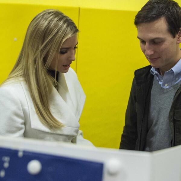 Ivanka Trump y su  esposo Jared Kushner