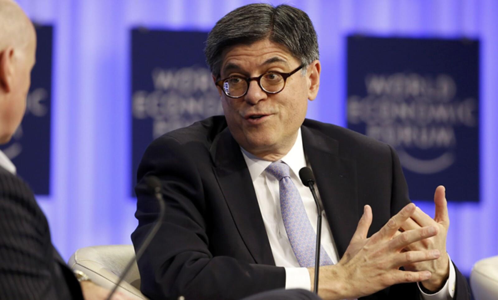 El Secretario del Tesoro de Estados Unidos también participó en una sesión del Foro.