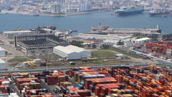 panor�mica del Puerto de Veracruz
