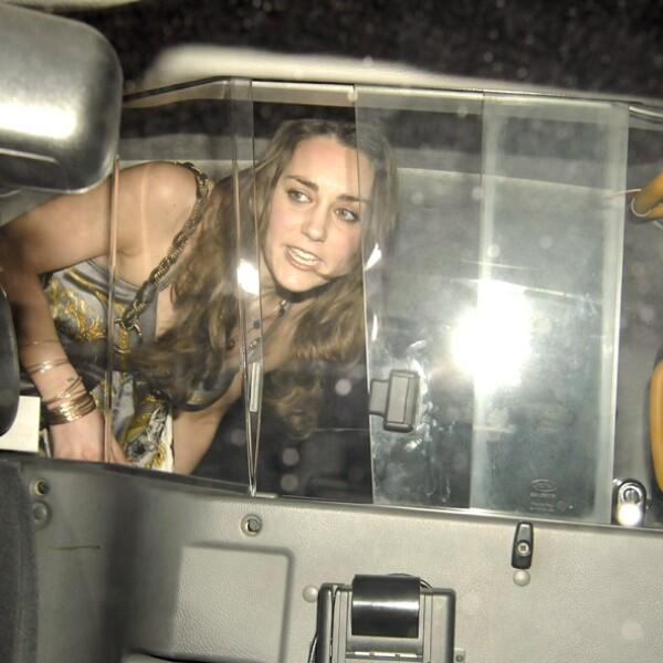 Kate Middleton leaving Mahiki nightclub, London, Britain - 02 Feb 2007