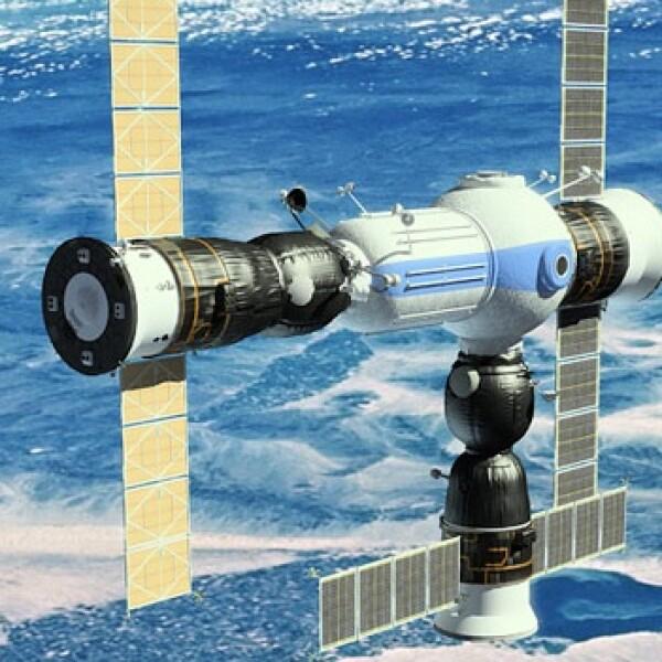 Estación espacial CSS con puerto universal