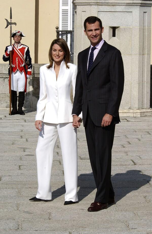 Prince Felipe and Letizia Ortiz