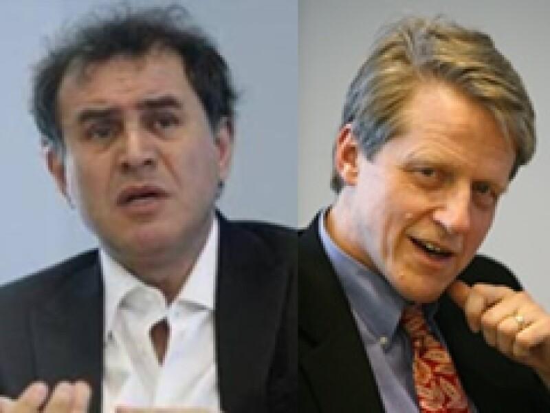 Roubini y Shiller se han convertido en dos de los conferencistas económicos más cotizados del mundo. (Foto: Reuters)