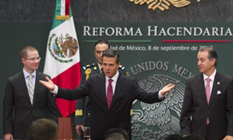 Para el IMEF es un desacierto eliminar la consolidación fiscal que propone el titular del ejecutivo, Enrique Peña. (Foto: Cuartoscuro)