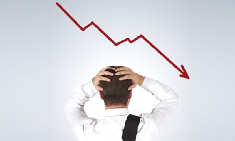 La tendencia a la baja de la BMV a partir de febrero 2013 provocó que los empresarios fueran más cautelosos con las actividades de sus firmas. (Foto: Getty Images)