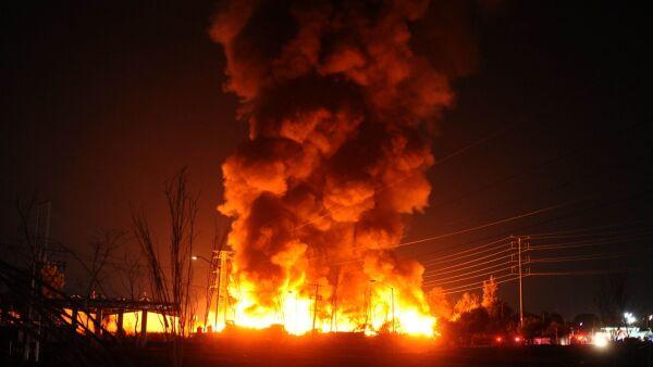 Incendio central abasto